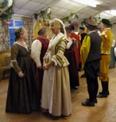 Photo of Renaissance Dancers in period costume